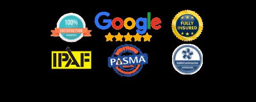 render cleaning endorsement logos